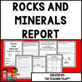 Rocks and Minerals   Research Report