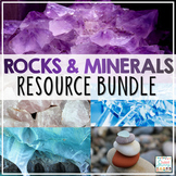 Rocks and Minerals Activities Resource Bundle