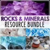 Rocks and Minerals Activities Resource Bundle