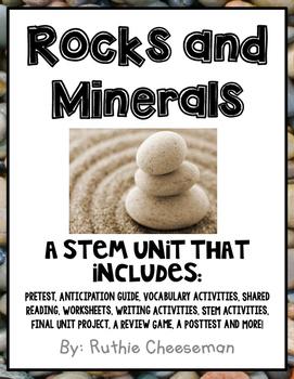 Rocks and Minerals STEM Unit