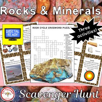 rock and mineral scavenger hunt