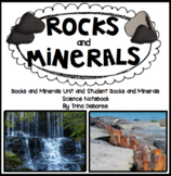 Rocks and Minerals Science Unit and Student Notebook