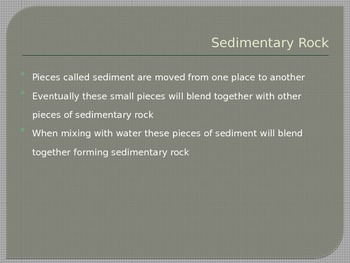 Rocks and Minerals - Sedimentary Rocks