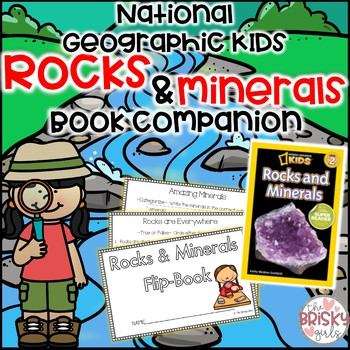 National Geographic Kids Rocks and Minerals Student Flip Book