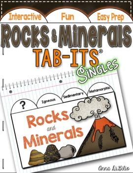 Rocks and Minerals Tab-Its™