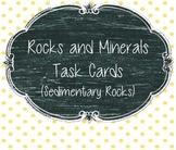 Rocks and Minerals Task Cards (Sedimentary Rocks)