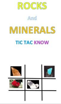 Rocks and Minerals Tic Tac Know