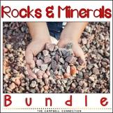 Rocks and Minerals Worksheet Bundle
