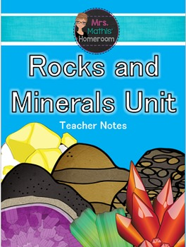 Rocks and Minerals Unit (6 Fun, Engaging & Hands-On Lessons)