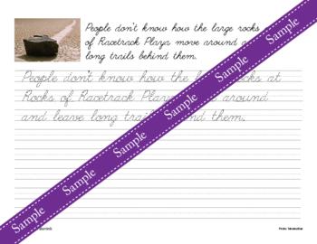Rocks and Minerals Unit - Copywork - Print - Handwriting