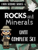 Rocks and Minerals Unit - Earth Science Series Bundle