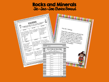 Rocks and Minerals Unit Essentials