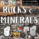 Rocks and Minerals Unit: Games, Activities, & Assessments bundle