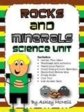 Rocks and Minerals Unit Plan