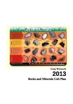 Rocks and Minerals Unit Plan for Grade 4 Science