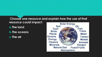Rocks and Minerals Unit Starter Questions for High School Earth Science Classes