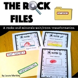 "Rocks and Minerals Unit: ""The Rock Files"""