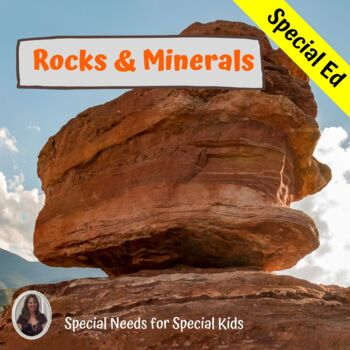 Rocks and Minerals Unit for Special Education 2 Levels