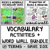 Rocks and Minerals Vocabulary Bundle