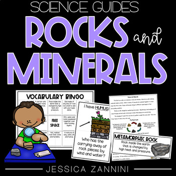 Rocks and Minerals (Lab, Close Read, and Vocabulary Games)