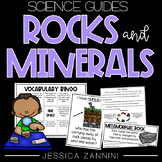 Rocks and Minerals Activities (Lab, Close Read, and Vocabulary Games)