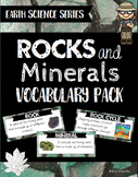 Rocks and Minerals Vocabulary Pack - Earth Science Series