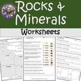 Rocks and Minerals Worksheets