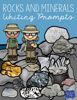 Rocks and Minerals Writing Prompts
