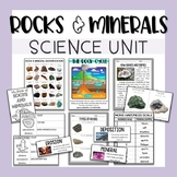 Rock Cycle, Rocks and Minerals Unit for Elementary Geology