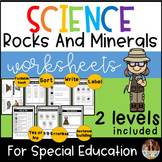 Rocks and Minerals for Special Education
