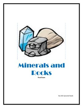 Rocks and Minerals, test