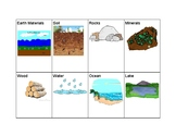 Rocks and Natural Materials Vocabulary