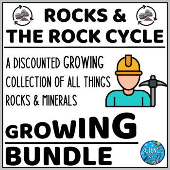 Rocks and Rock Cycle Bundle