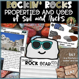 Rocks & Soil and their Uses - Writing, Reading & Social Studies Integrated!
