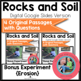 Rocks and Soil Bundle Science Reading Comprehension {Digital and Print and Go}
