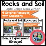 Rocks and Soil Bundle Science Reading Comprehension {Digit