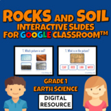 Rocks and Soil Digital Interactive Slides for Google Class