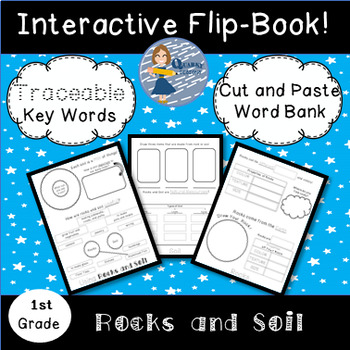 Rocks and Soil: Interactive Science Flip Book