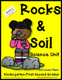 Rocks and Soil Unit with Lesson Plans kindergarten First Second week 2