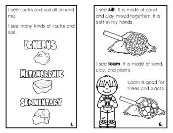 Rocks and Soil for Kindergartners!