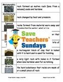 Rocks and soils unit (8 lessons)