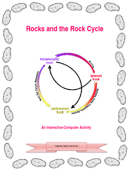 Rock cycle interactive teaching resources teachers pay teachers rocks and the rock cycle an interactive learning activity ccuart Image collections