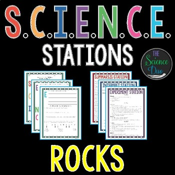 Rocks and the Rock Cycle - S.C.I.E.N.C.E. Stations