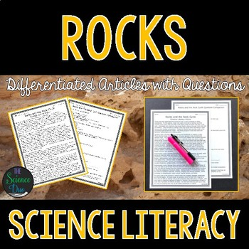 Rocks and the Rock Cycle - Science Literacy Article