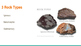 Rocks and their Characteristics