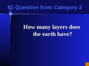 Rocks jeopardy game