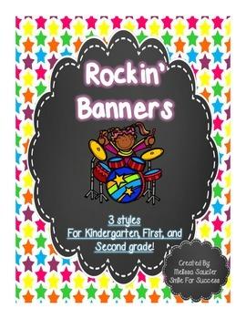 Rockstar Banners! {Freebie}