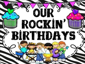 Rockstar Birthday Set