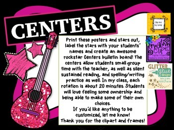 Rockstar Center Bulletin Board