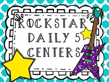 Rockstar Classroom Daily 5 Posters